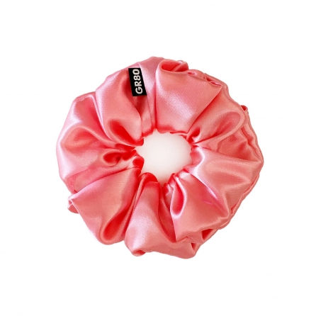Lazac selyem hajgumi (scrunchie) prémium minőségű szaténból. Átmérője kb. 12 cm