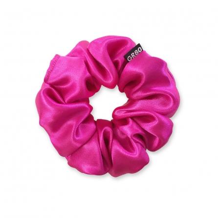 Prémium minőségű, magenta (ciklámen) színű szatén selyem scrunchie / hajgumi. Átmérője kb. 12 cm